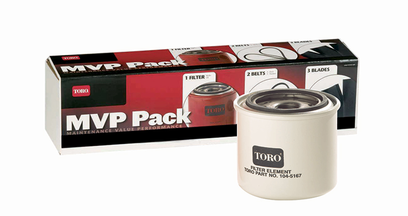 Save time and money with Toro's MVP kits