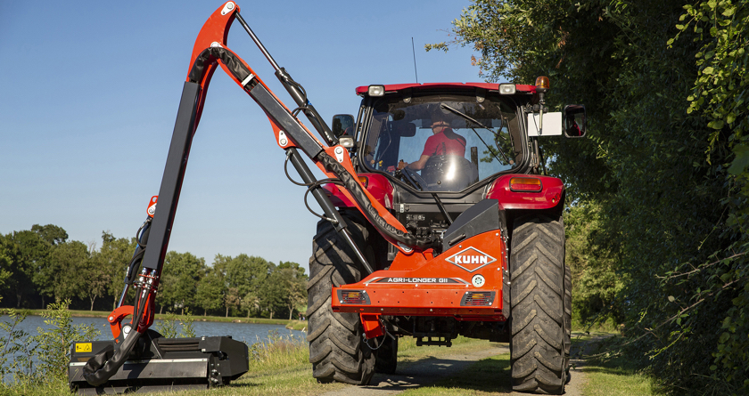 KUHN upgrades farm and amenity hedge cutter range