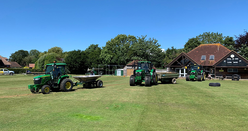 AMS Contracting provides effective flood relief for Stirlands Cricket Club