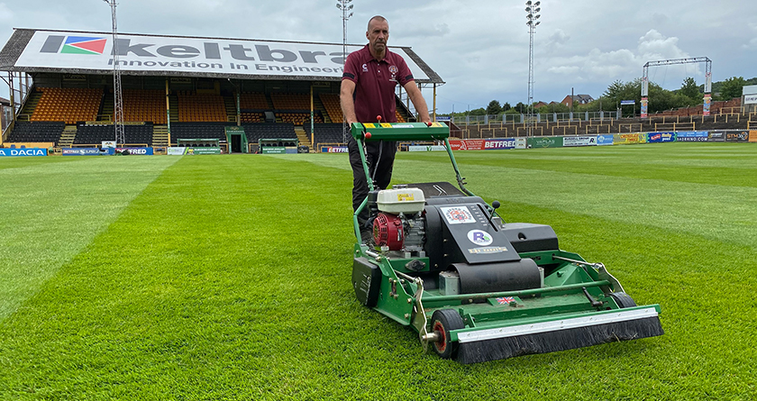 Castleford Tigers RLFC see improvements with Dennis PRO 34R