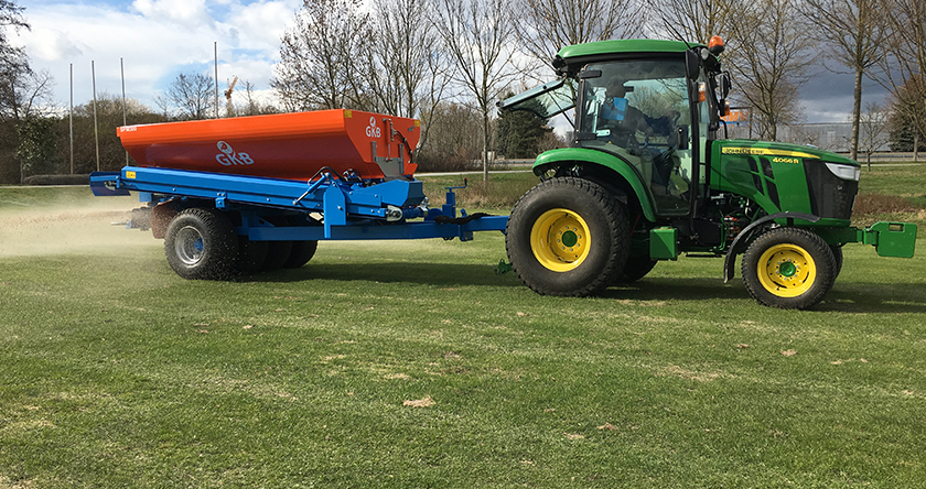 Keeping your sports pitch or golf course in prime condition