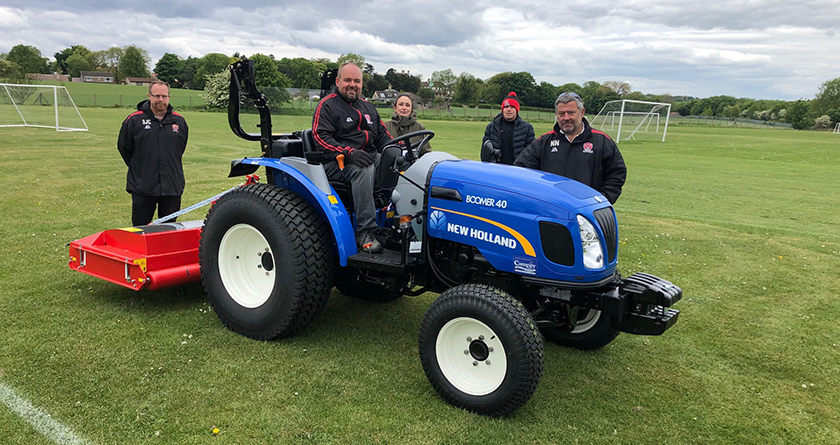 Campey help take Kiveton Park FC's pitches to the next level
