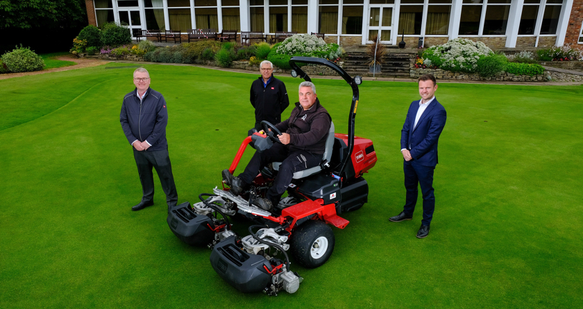 Newcastle-Under-Lyme GC first to own Toro's new all-electric Etriflex 3370