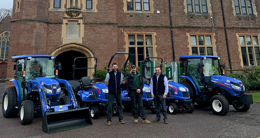 New ISEKI fleet comes up trumps for Blundell's School