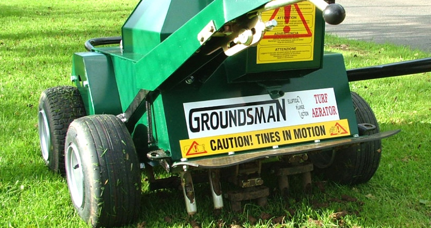 Groundsman Turf Cutters, Aerators & Collectors