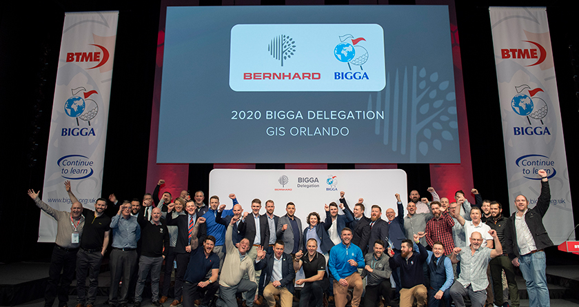 Bernhard Company put on hold the recruitment for the annual BIGGA delegation