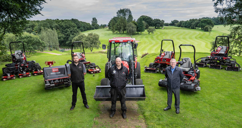 Dean Wood Golf Club signs second Toro fleet deal
