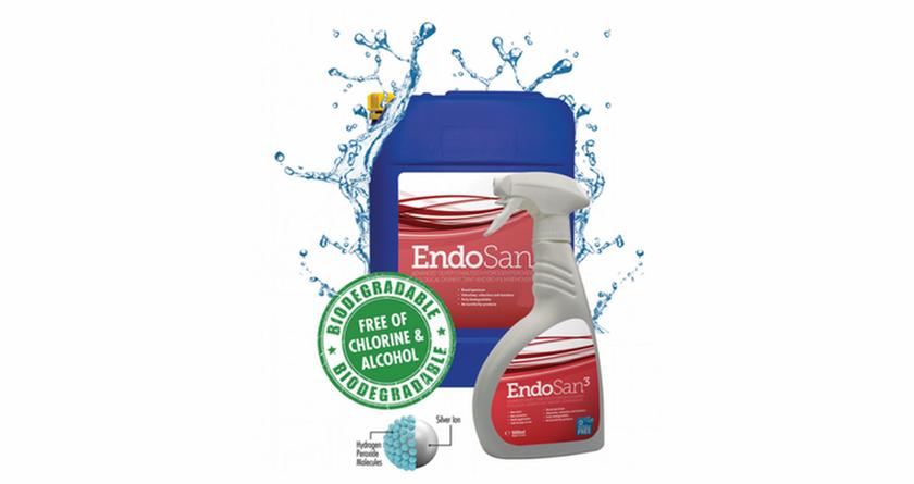 EndoSan for silver service sanitisation