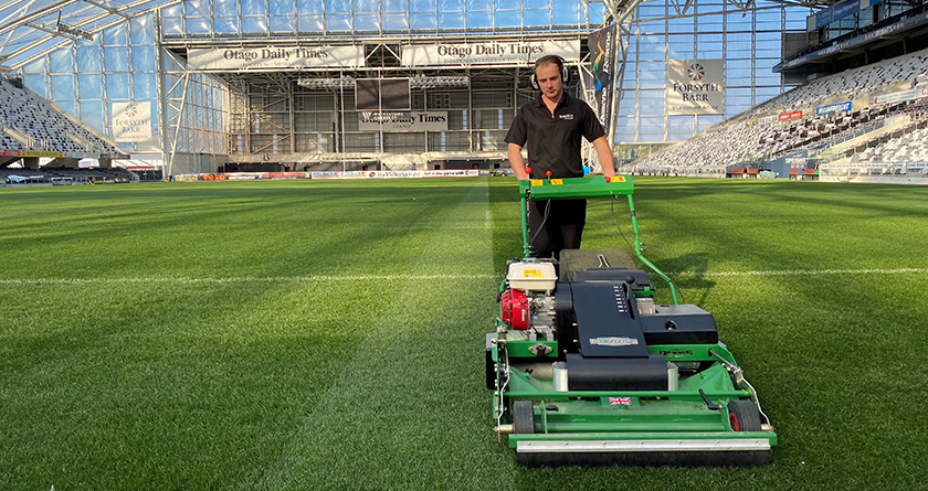 Time saved at the Forsyth Barr Stadium with Dennis PRO 34R