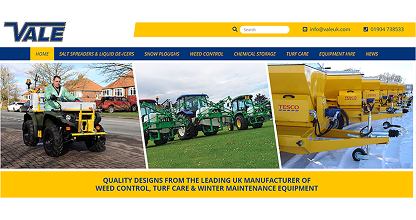 VALE Engineering launch new website
