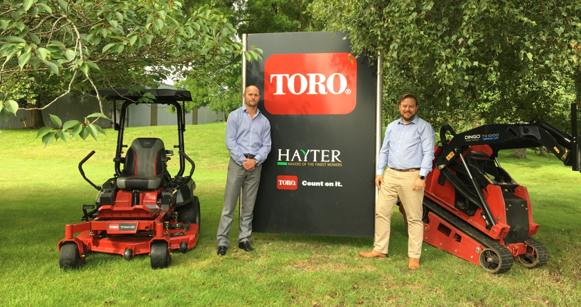 Hayter and Toro appoints new LCE & Siteworks Sales Manager