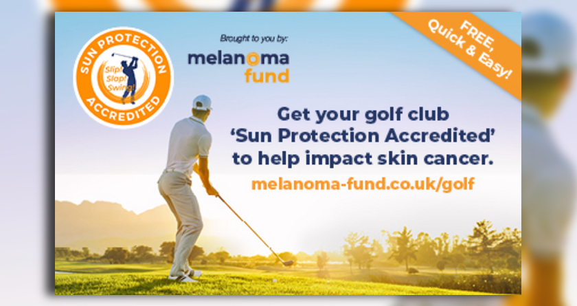Golf is getting sun savvy thanks to Melanoma Fund campaign