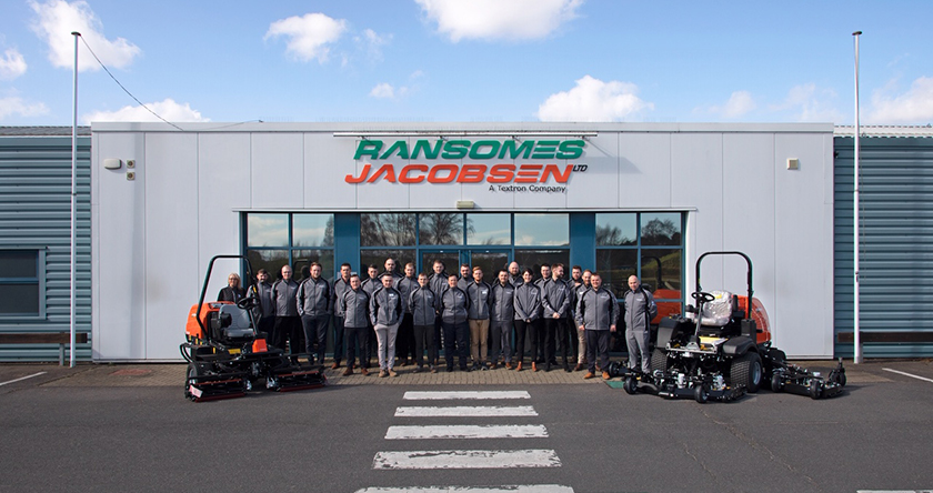 BREAKING: Textron to relocate Jacobsen production to UK facility