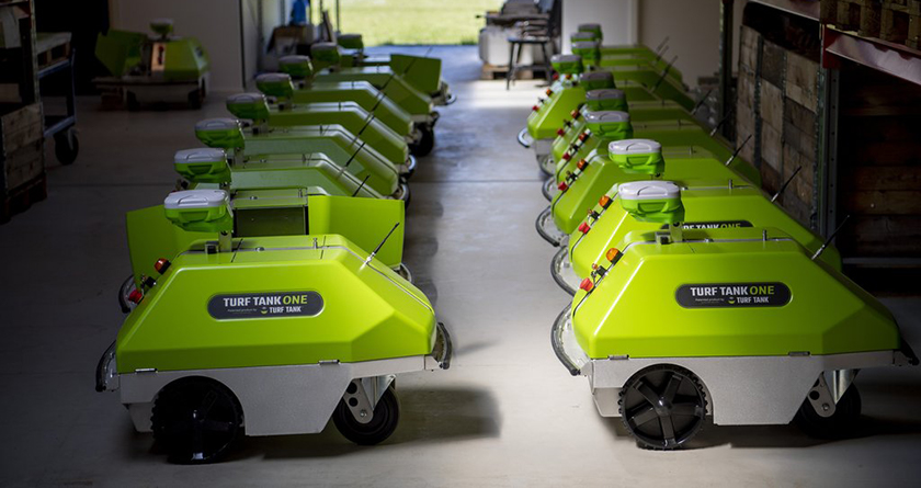 Turf Tank make robotic line-marking affordable with UK subscription options