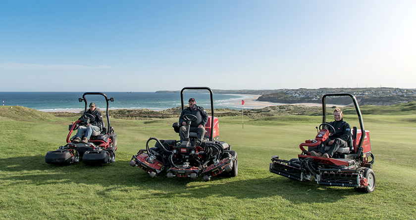 West Cornwall GC invests in efficient Toro machinery