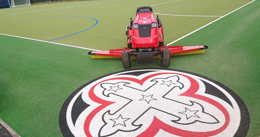 New synthetic surface requires new Redexim RTC unit for Bishopsgate School