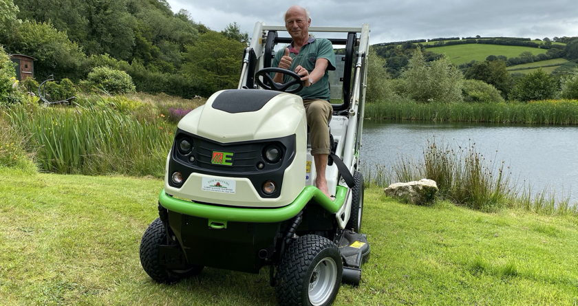 Power in paradise with Etesia Buffalo