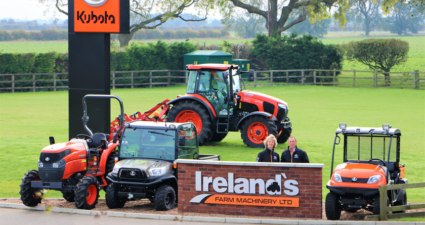 Irelands Farm Machinery takes on Kubota groundcare equipment