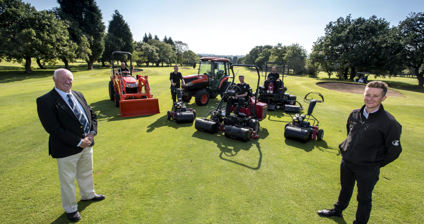 Gathurst Golf Club invests in brand new fleet