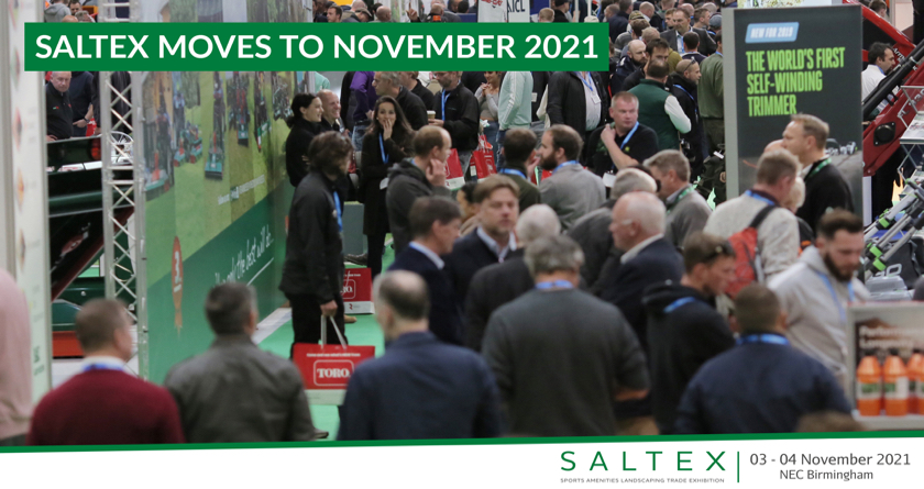 BREAKING NEWS: SALTEX moves to November 2021