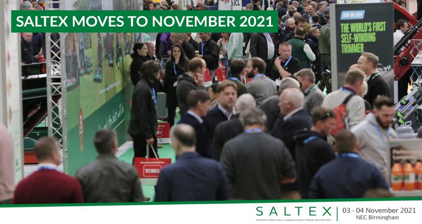 BREAKING NEWS: SALTEXmoves to November 2021