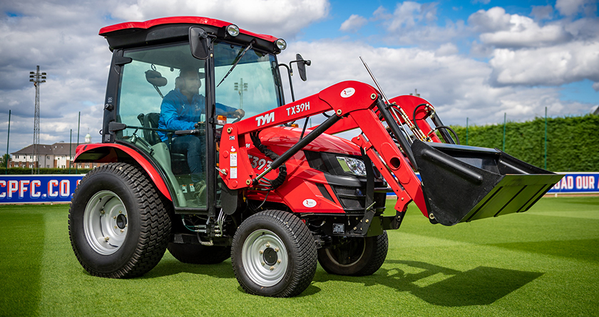 A workhorse with extra for Autumn, TYM's T393 tractor