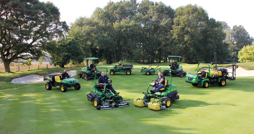 John Deere continue to make a big difference for West Surrey GC