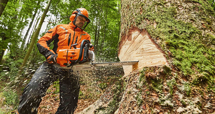 STIHL launches world's most powerful production chainsaw