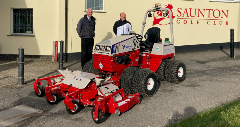 Ventrac provides solutions at Saunton Golf Club
