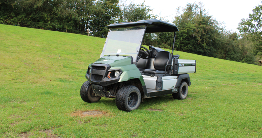 Electric UTV essential for busy leisure site