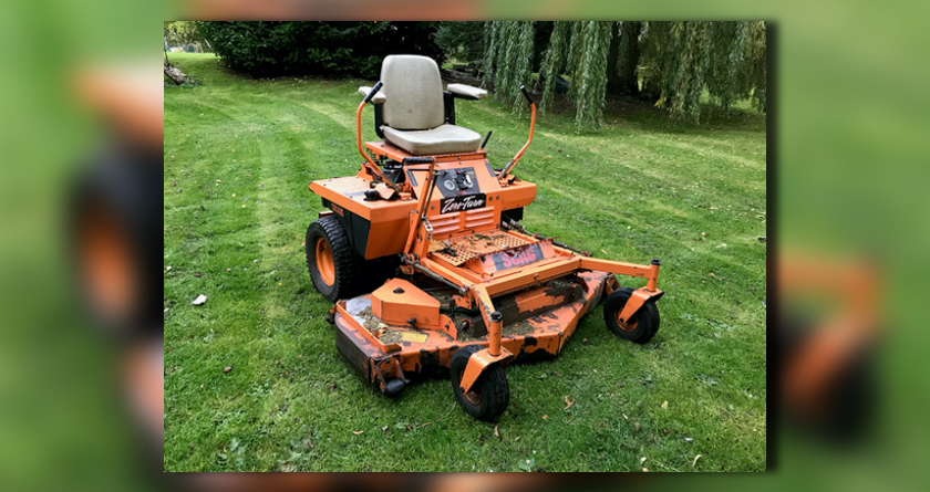 Early SCAG mower located
