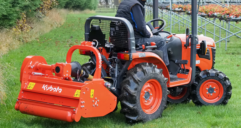 Access all areas with the new Kubota B1 Series