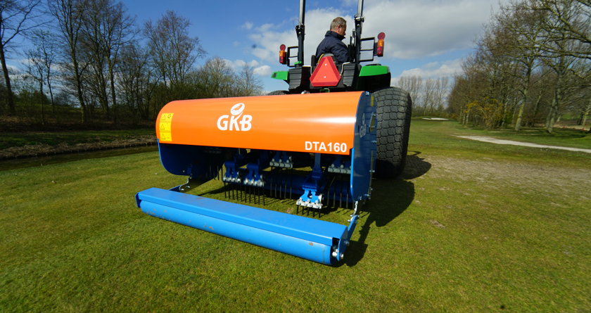 GKB offer Grounds-staff the ultimate aeration machinery