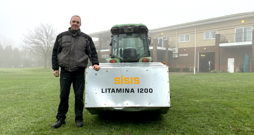 Gillingham GC saves manpower with SISIS Litamina