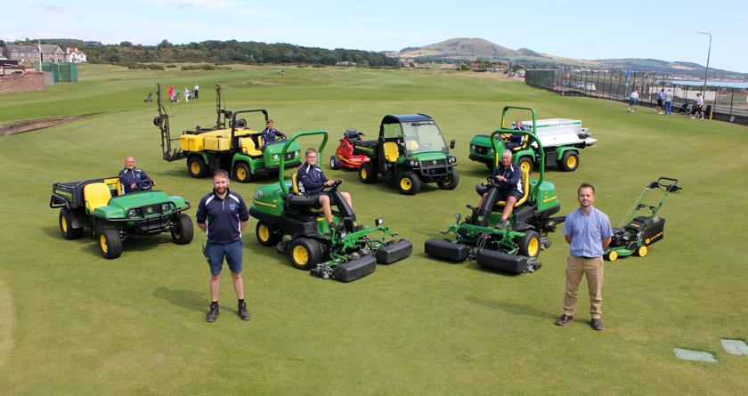 New partnership benefits Leven Links