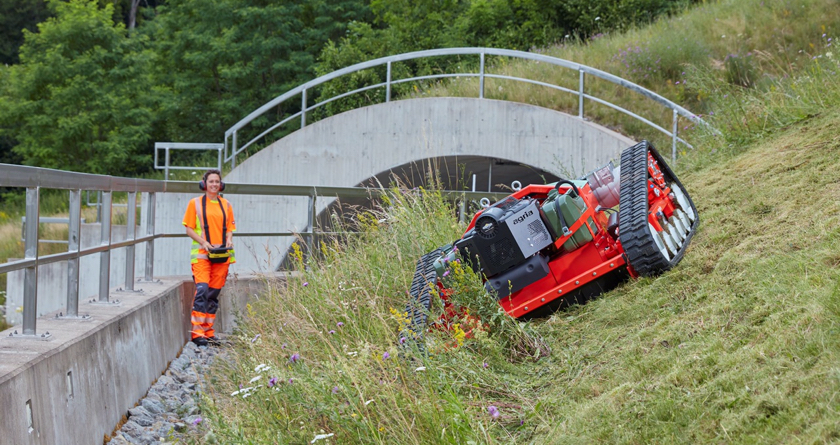 New and improved smarter agria 9600 tames even steeper slopes