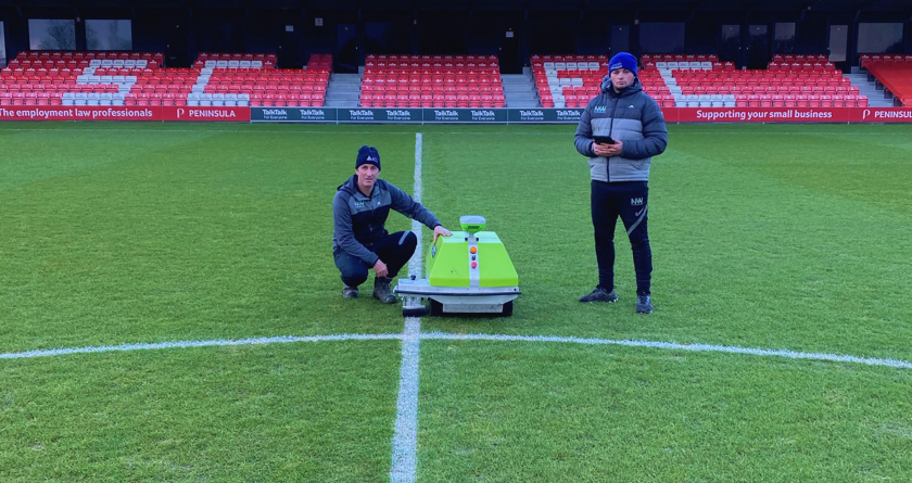 North West Pitch Maintenance make their mark with Turf Tank