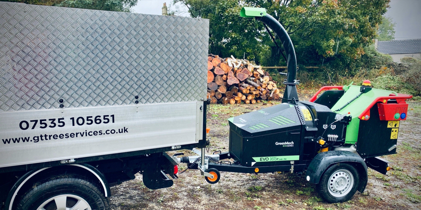 EVO 165P Sub-750 delivers powerful petrol performance for GT Tree Services