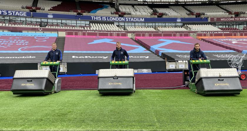 London Stadium relies on fleet of Dennis G860's