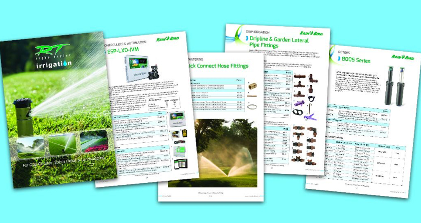 Rigby Taylor launch Irrigation catalogue