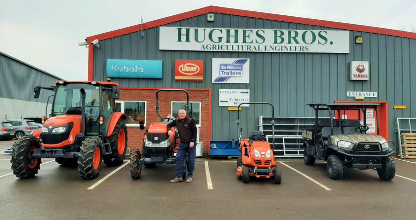 Hughes Bros & Battlefield Machinery take on Kubota ground care equipment