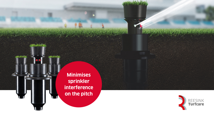 New natural Turf Cup for Toro B Series sprinklers from Reesink