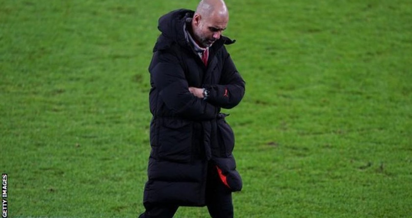Man City boss says grass is not good but grounds-staff not to blame