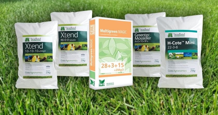 Headland's fertiliser range bring strength and control to new season growth