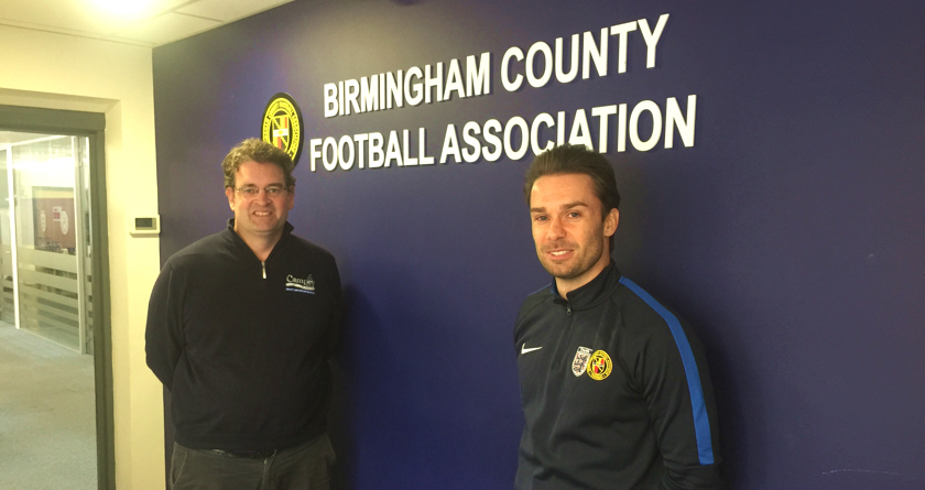 Outstanding service earns Campey Birmingham FA partnership