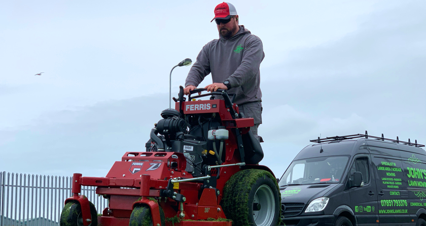 Kawasaki engines' build quality a key factor in business success for lawn care legend