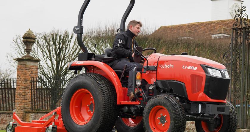 Kubota launches brand new L1-382 tractor
