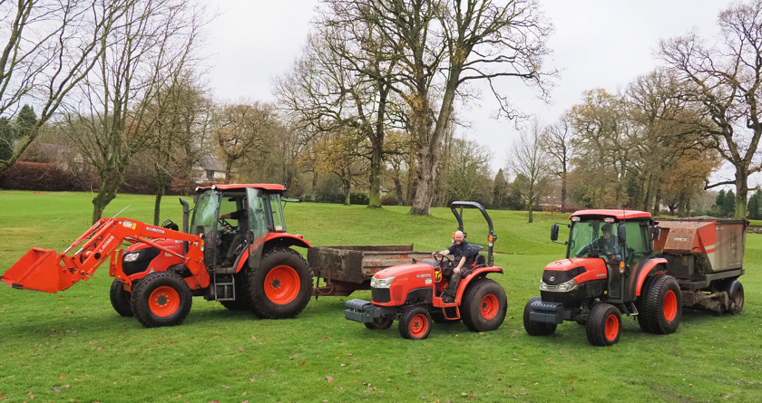 Kubota delivers in small, medium and large