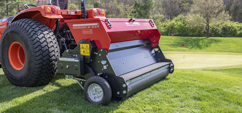 Redexim range delivers complete versatility for overseeding