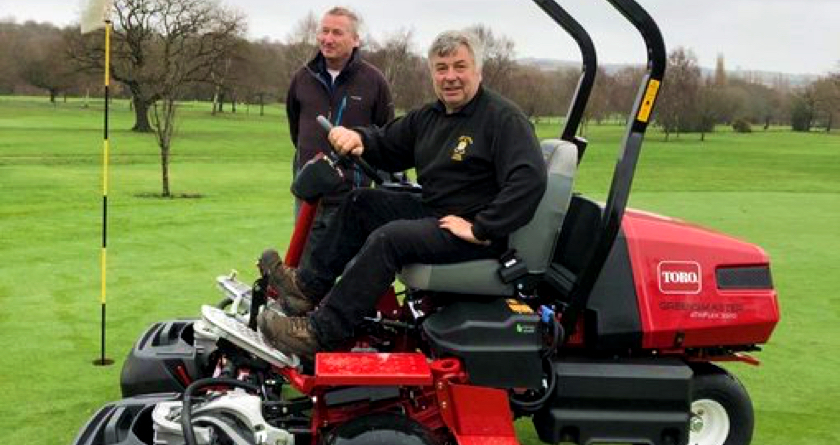 Electric power for Dore and Totley Golf Club